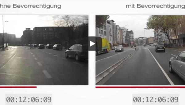 Busbeschleunigung Direktvergleich