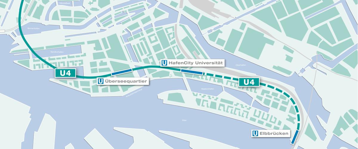 U4_Verlängerung Elbbrücken