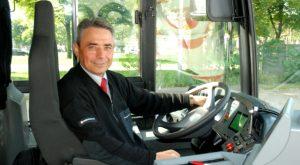 Mit Leib und Seele Busfahrer