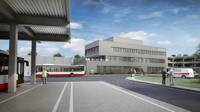 Visualisierung Busbetriebshof Gleisdreieck