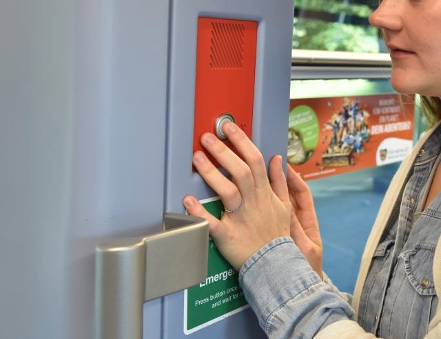 Sprechstelle U-Bahn