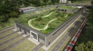 Billstedt – Eine neue U-Bahn-Werkstatt für Hamburg