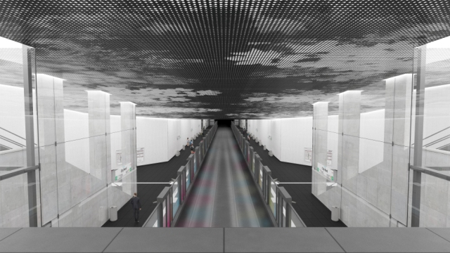 Liniendesign U5 Ost - Galerie