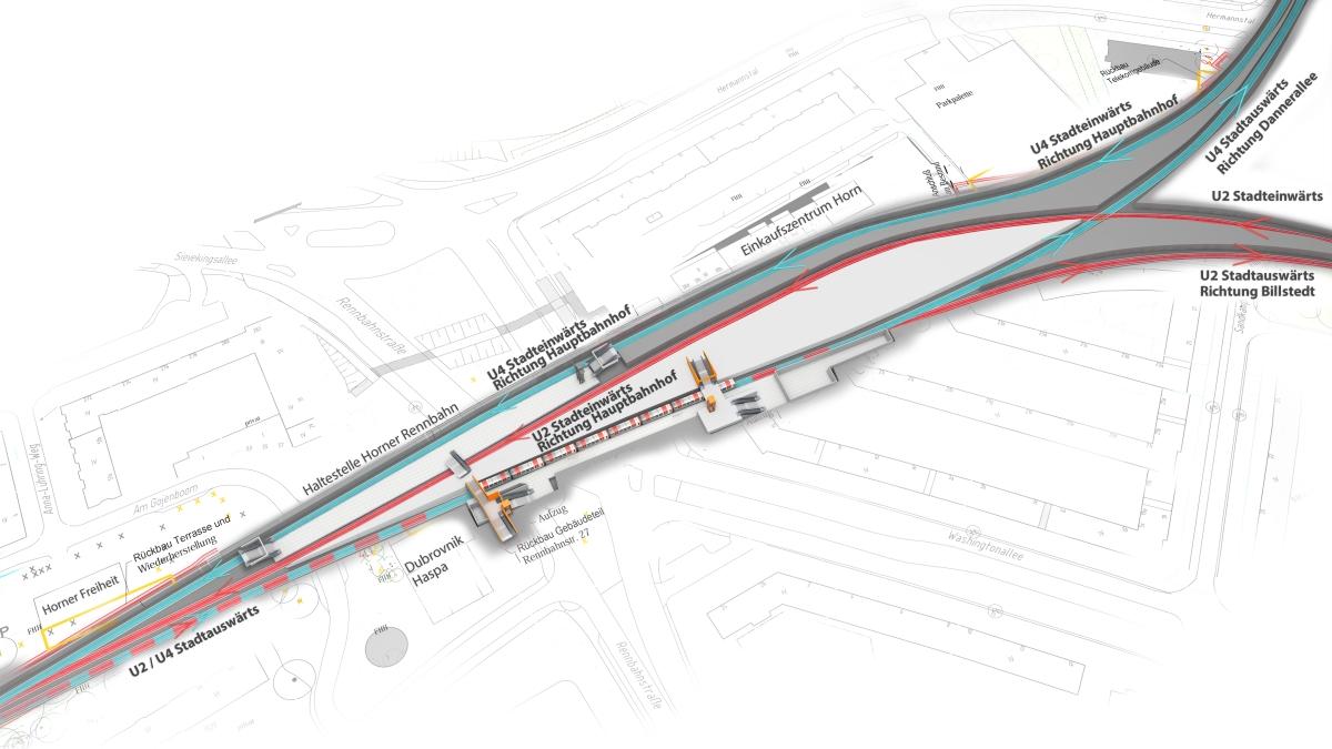 U4_Horner Rennbahn Betrieb Planung