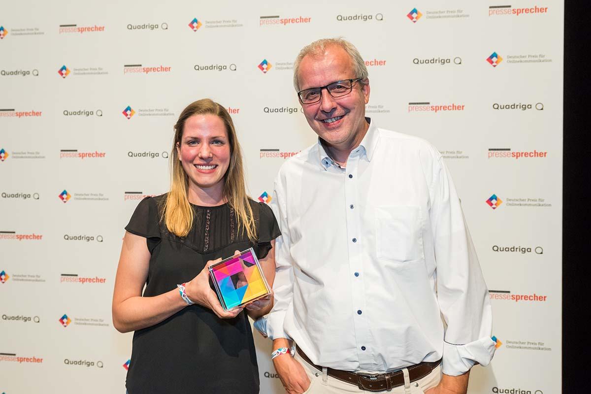 deutscher preis für onlinekommunikation HOCHBAHN