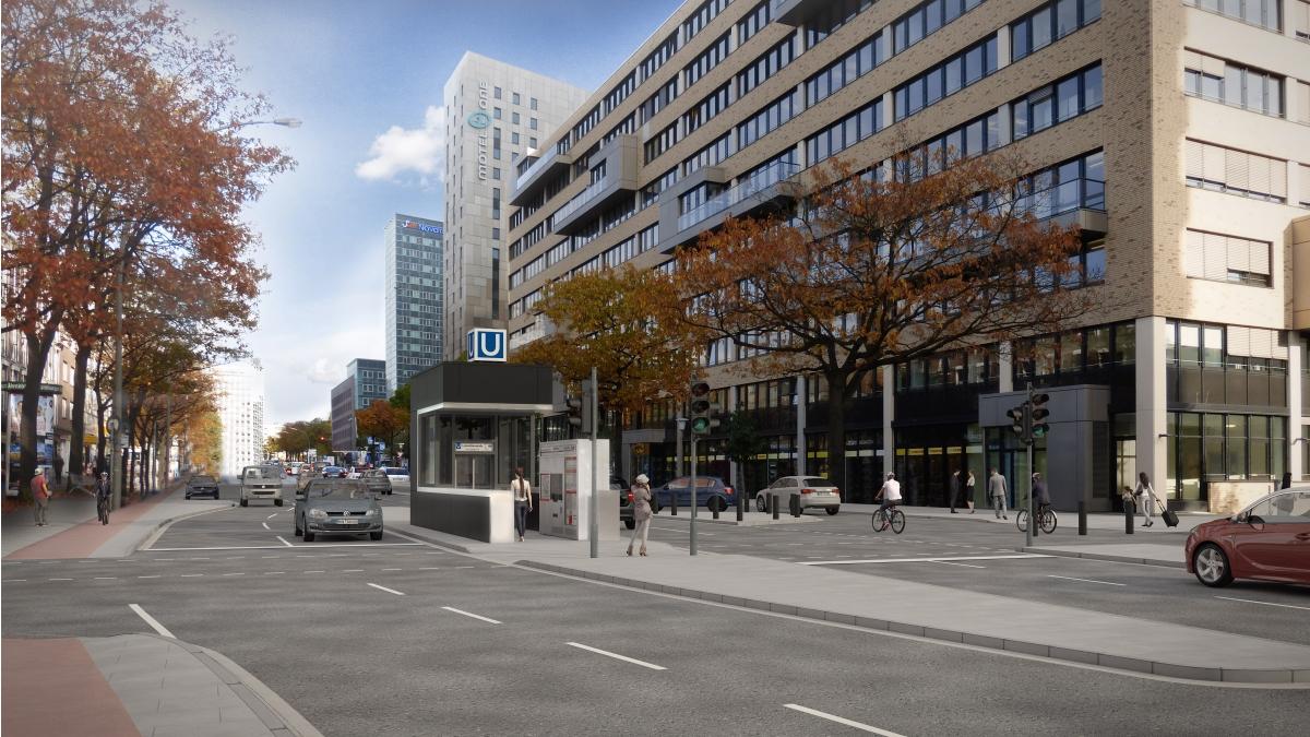 U1 Lohmühlenstraße barrierefrei