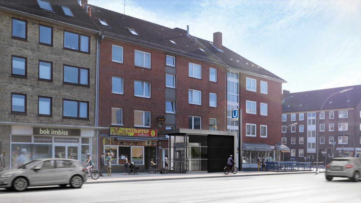 U1 Ritterstraße barrierefreiU1 Ritterstraße barrierefrei