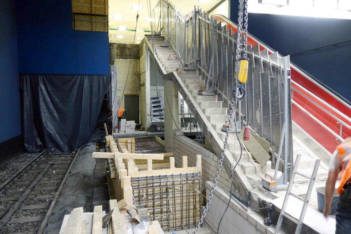 Wandsbeker Chaussee Aufzug 1