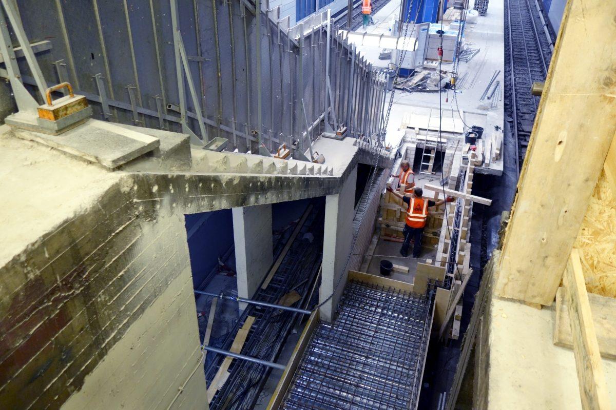 Wandsbeker Chaussee Aufzug 2