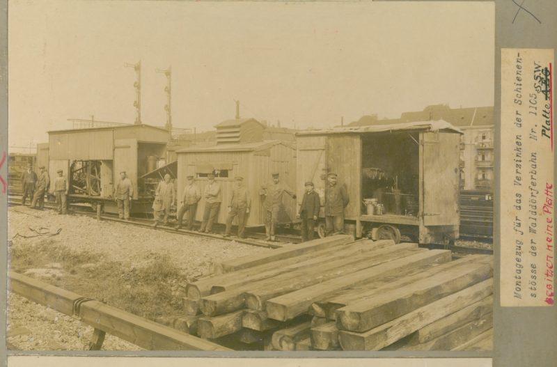Walddörferbahn Arbeiter
