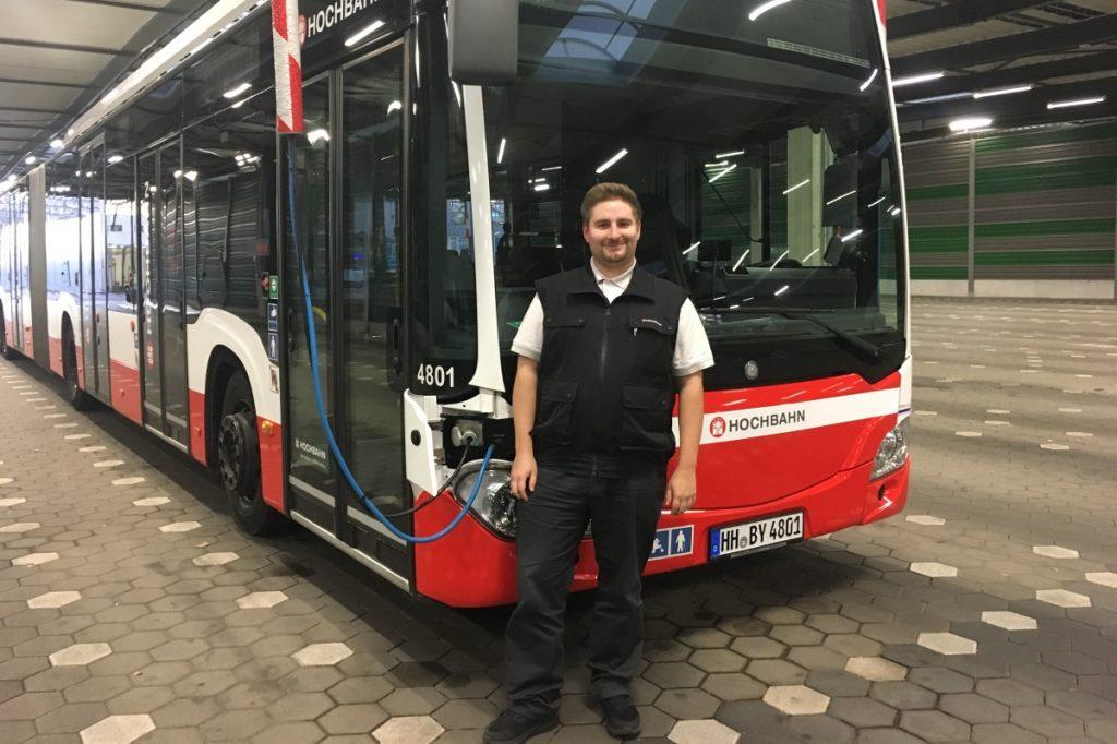 HOCHBAHN Busfahrer Benny