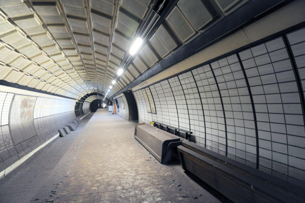Stillgelegte Bahnsteige Hauptbahnhof Nord U2/U4