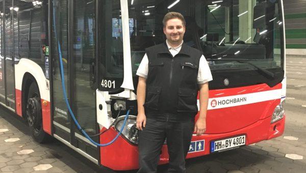 Busfahrer Benny Pause Titelbild