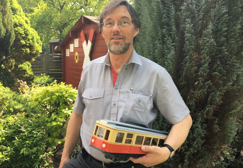 Zugfahrer Martin Diversity-Woche bei der HOCHBAHN