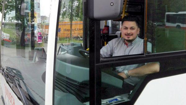 Titelbild Busfahrer Denis