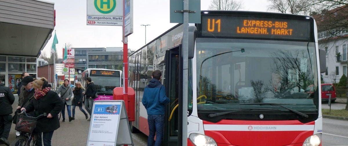 Titelbild Ersatzverkehr U1