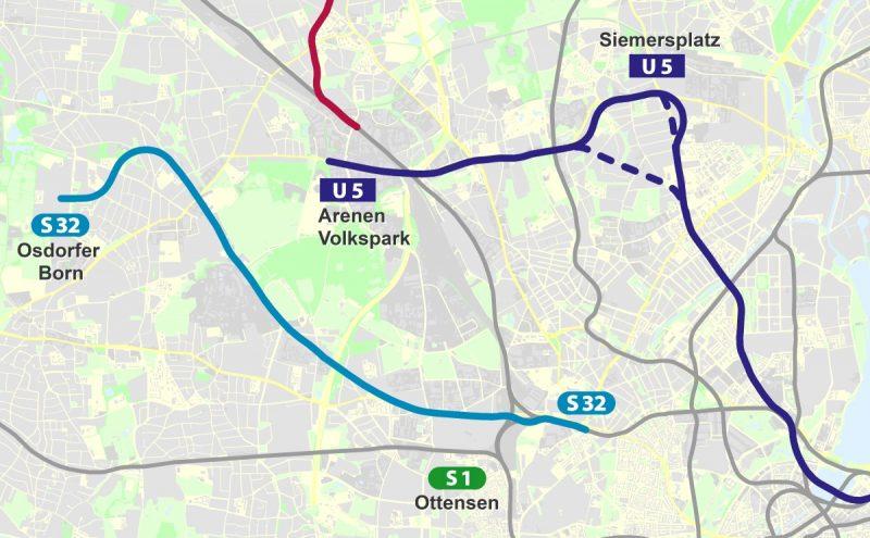 Anbindung Hamburger Westen