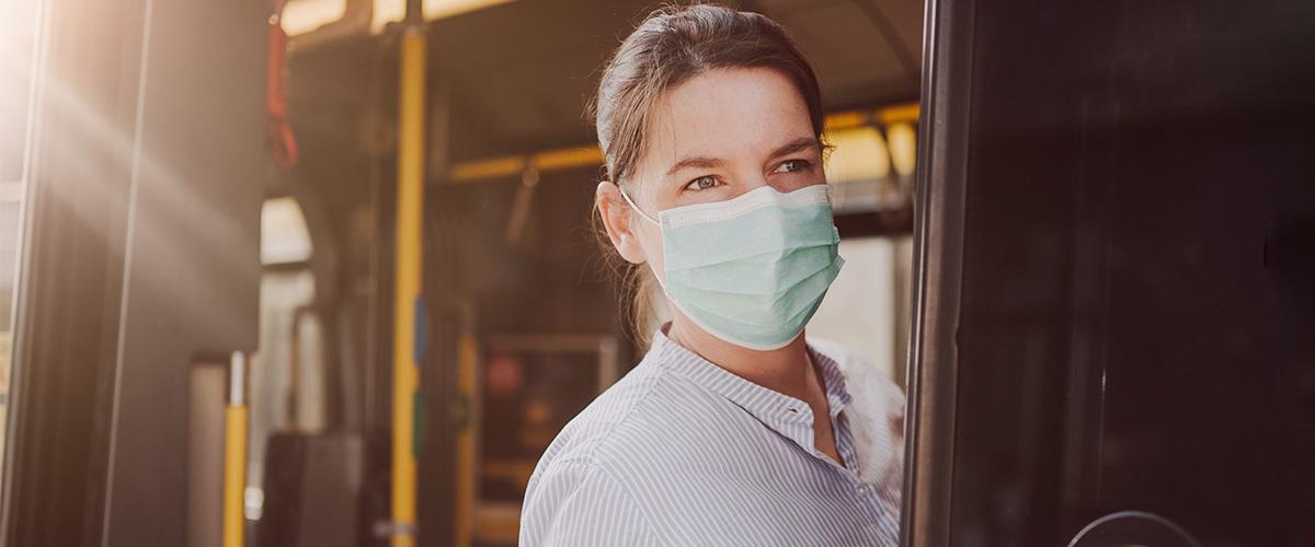 Bus- und Bahnfahren in der Corona-Zeit: Bald nur noch mit Maske!