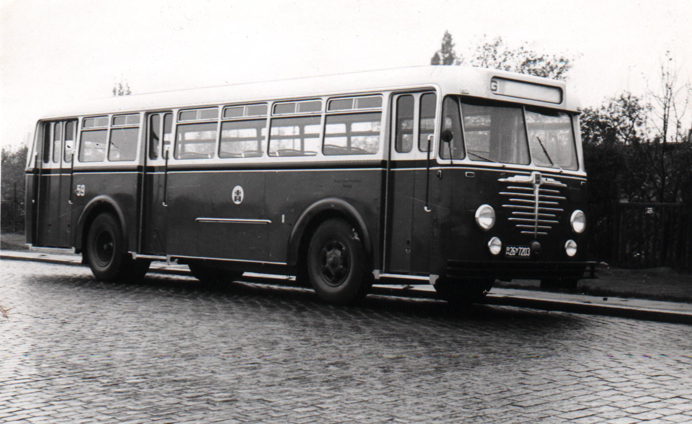Ein neuer Büssing TU 5000, Baujahr 1950
