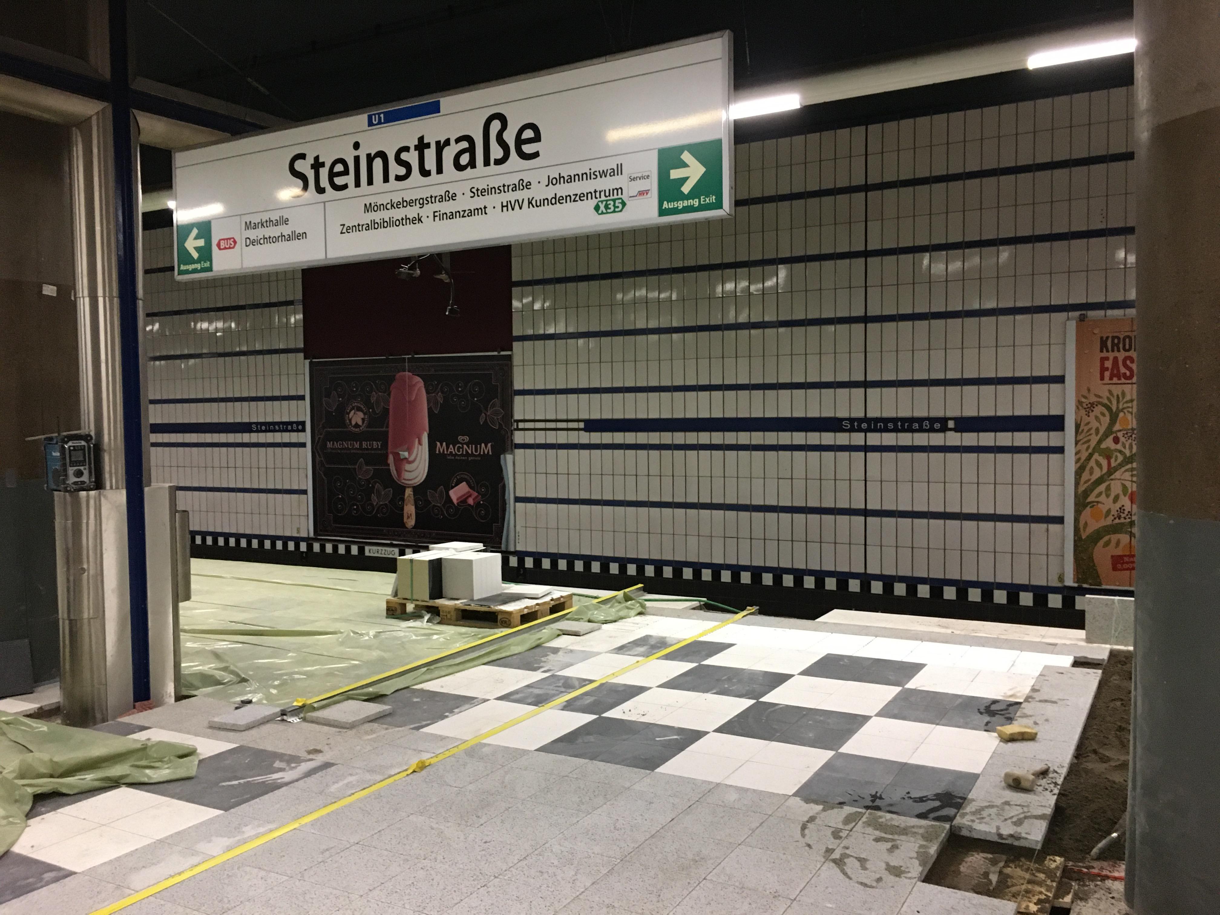 Barrierefreier Ausbau Steinstraße