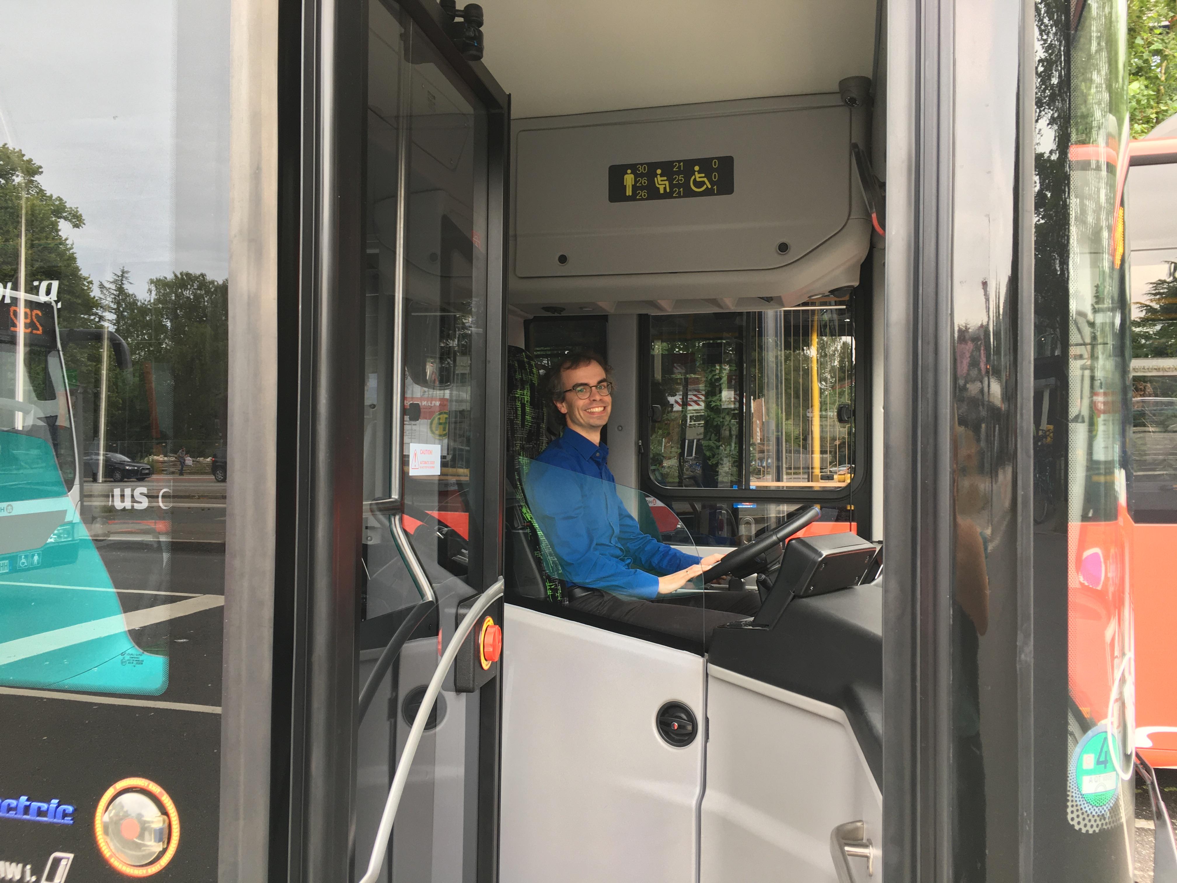 Quartiersbus im Test