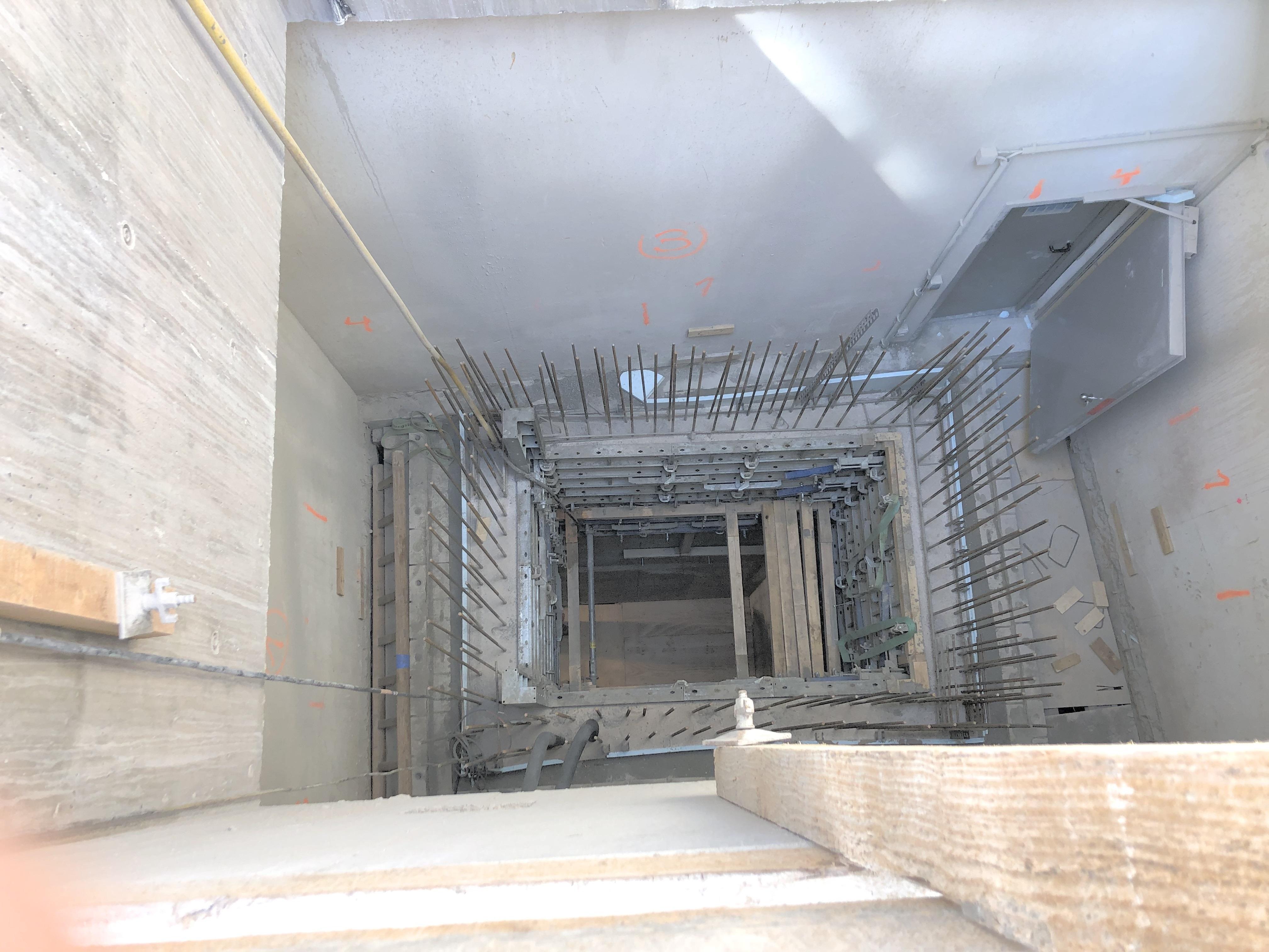 Step 2: Deckendurchbruch Steinstraße