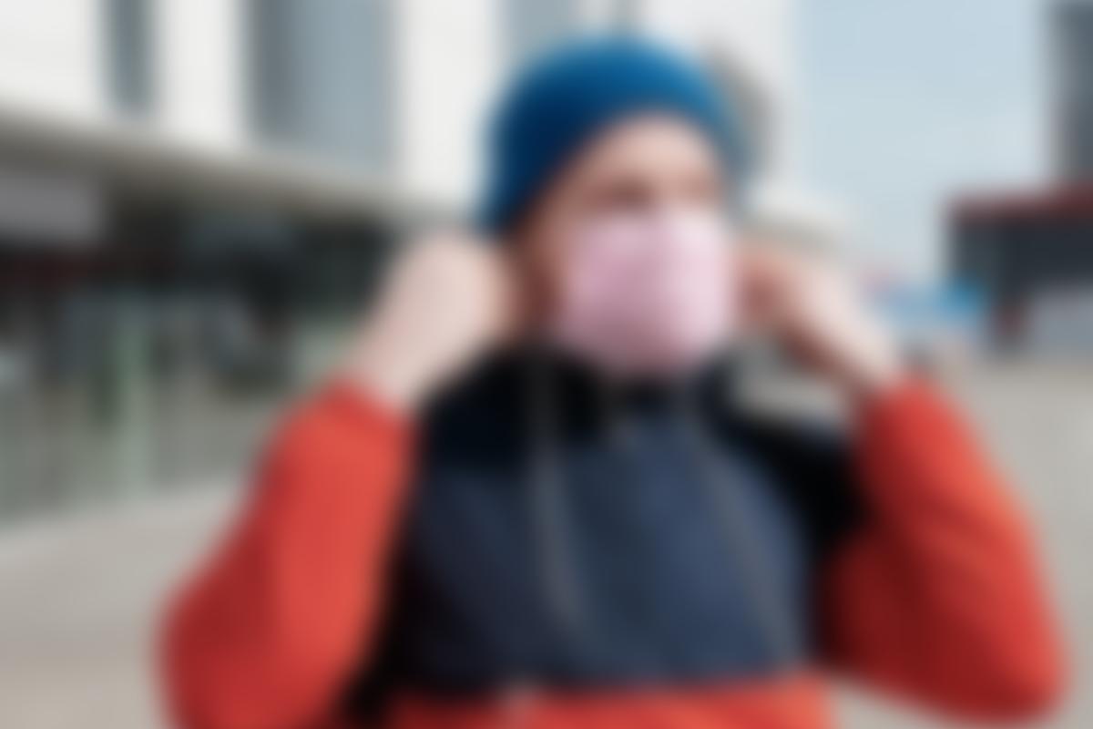 Warum trägst du Maske Anonym