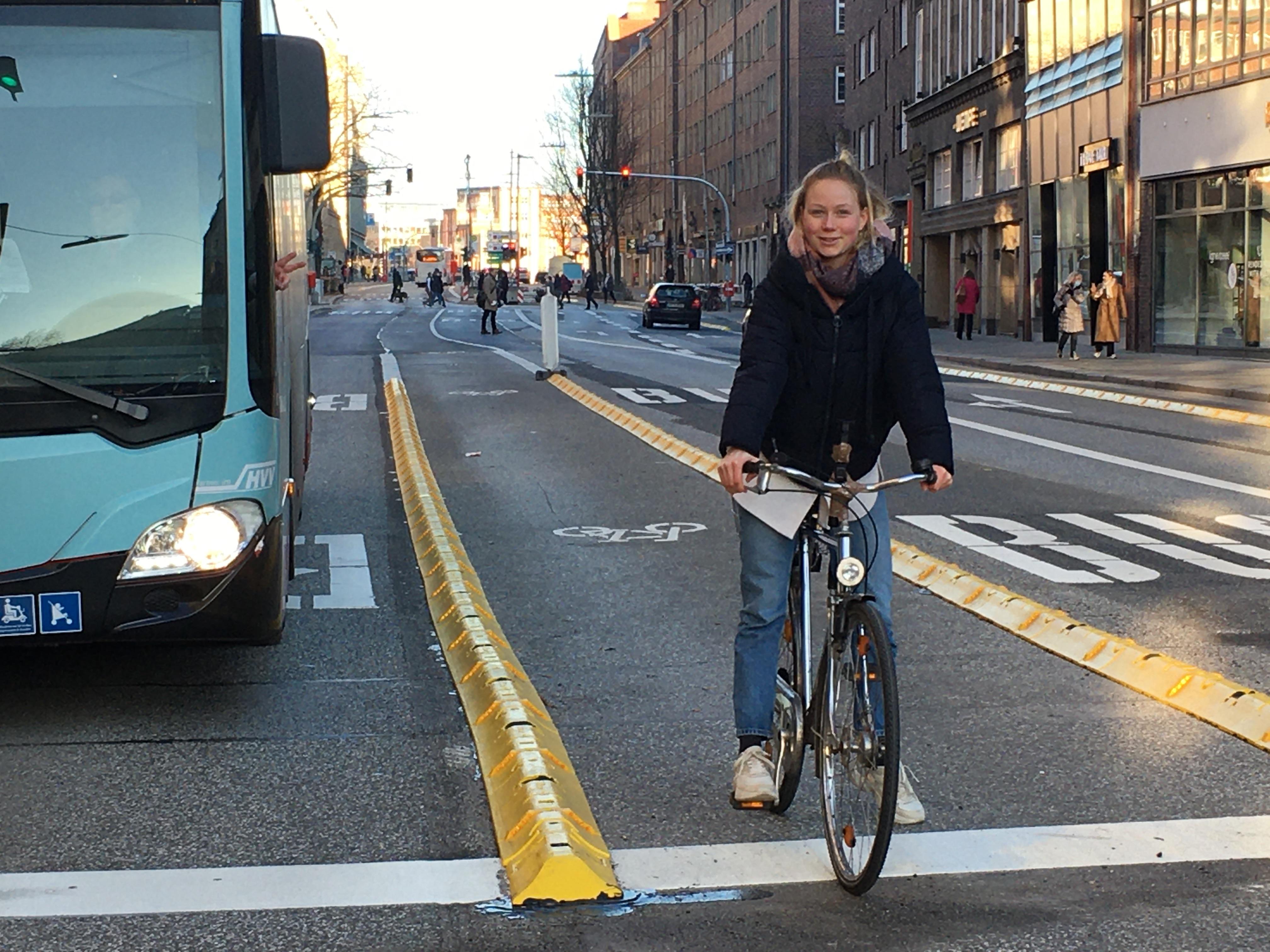 Bus- und Radspur