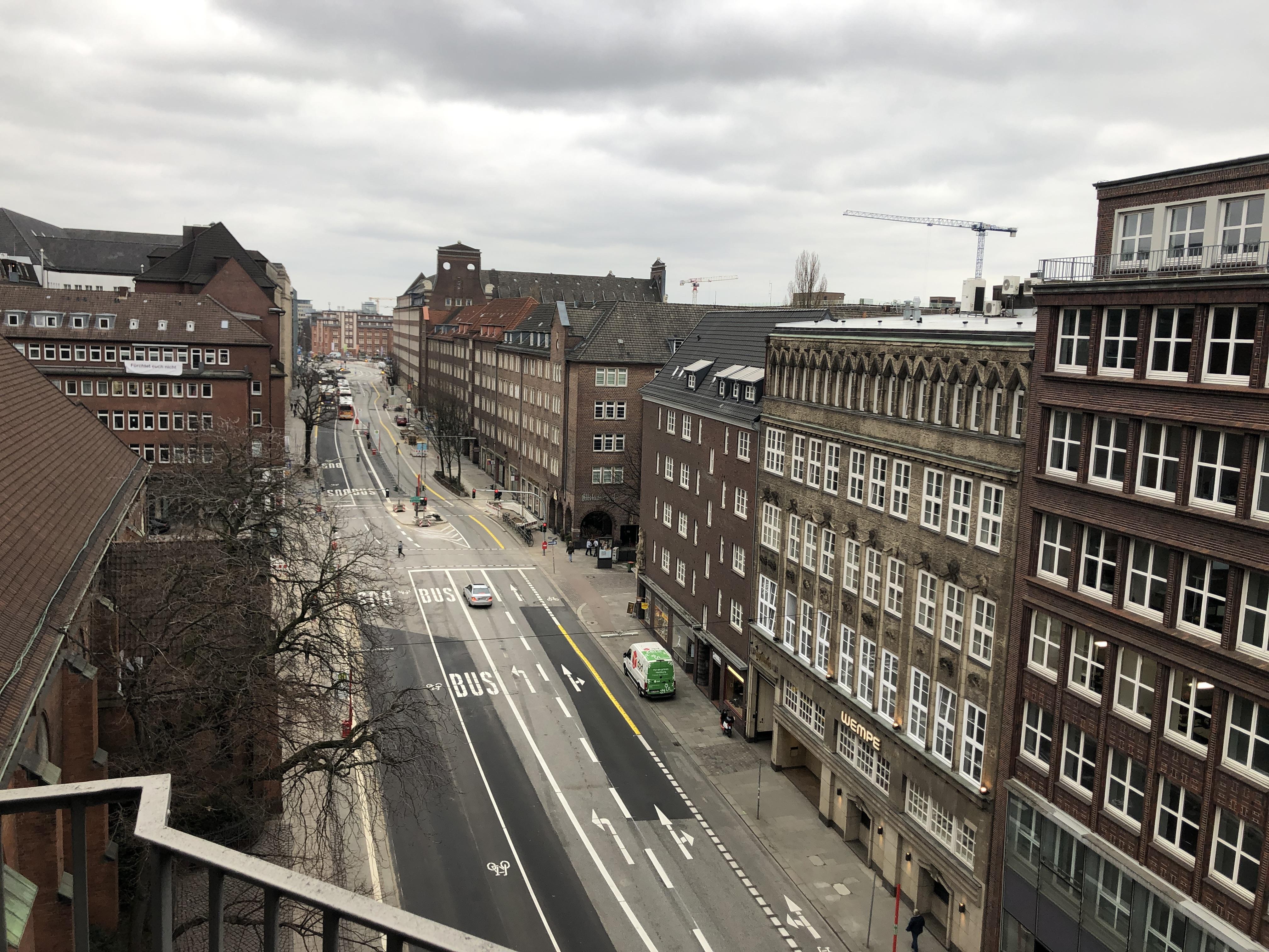 Neue Verkehrsführung in Steinstraße