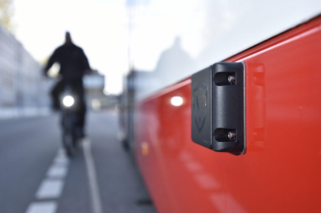 Abbiegeassistenzsystem für Busse