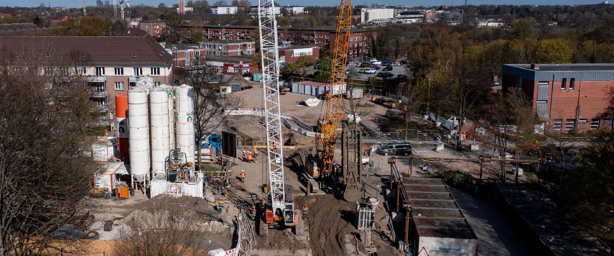 U4 Horn – Wo ist in einem dicht bebauten Stadtteil eigentlich noch Platz für eine U-Bahn?