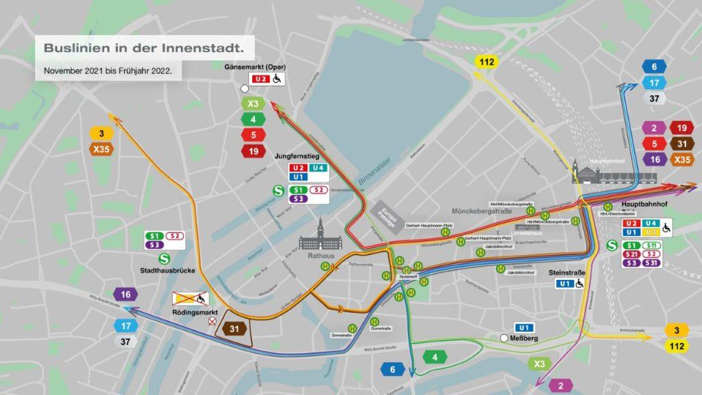Verkehrskonzept November 2021 bis Frühjahr 2022